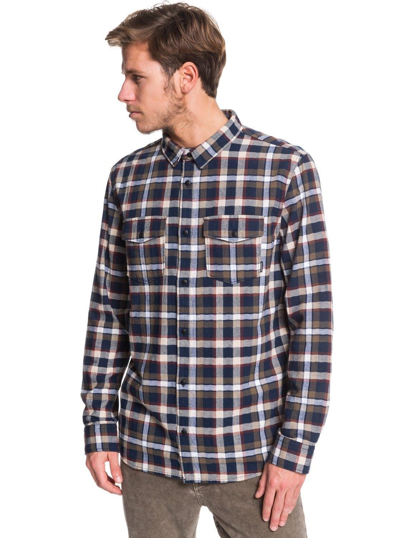 Quiksilver overhemd met lange mouwen »Snap Down« - gratis ruilen op otto.nl