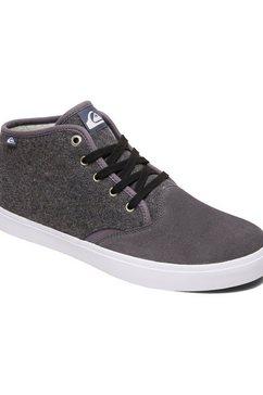 quiksilver sneakers »shorebreak mid sherpa« grijs