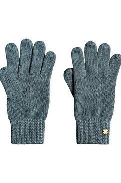 roxy gebreide handschoenen ''an eye on'' blauw