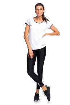 roxy sportieve 7-8 legging ''brave for you'' zwart