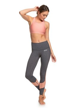 roxy yoga capris leggings ''say you say me'' grijs