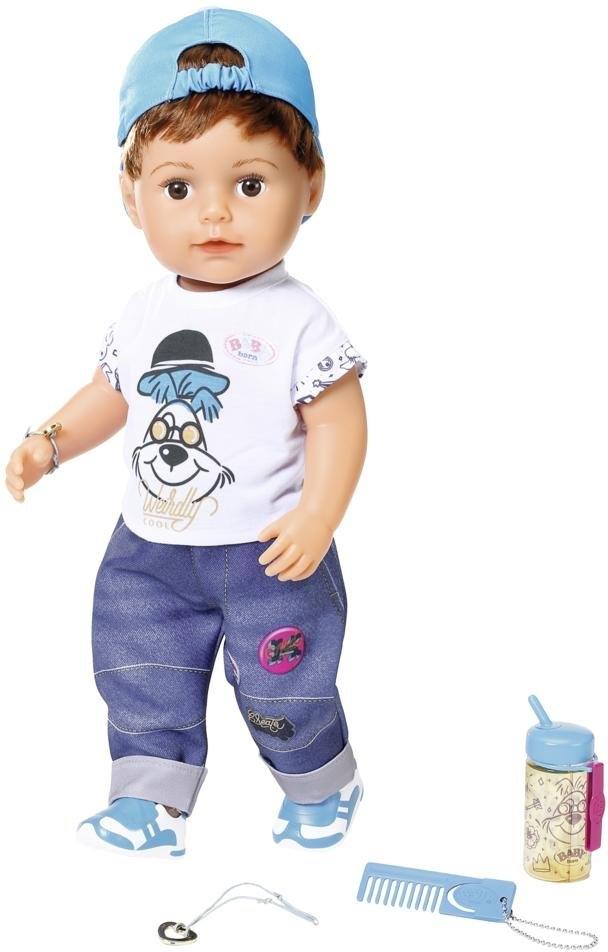 Baby Born staande pop Soft Touch Brother, 43 cm interactief veilig op otto.nl kopen