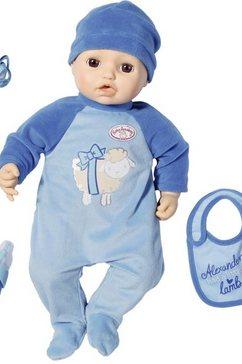 zapf creation babypop blauw