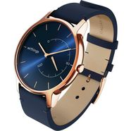 withings »move timeless chic lederband« fitness-horloge goud