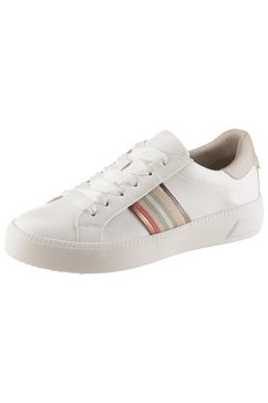 tamaris plateausneakers »milania« wit
