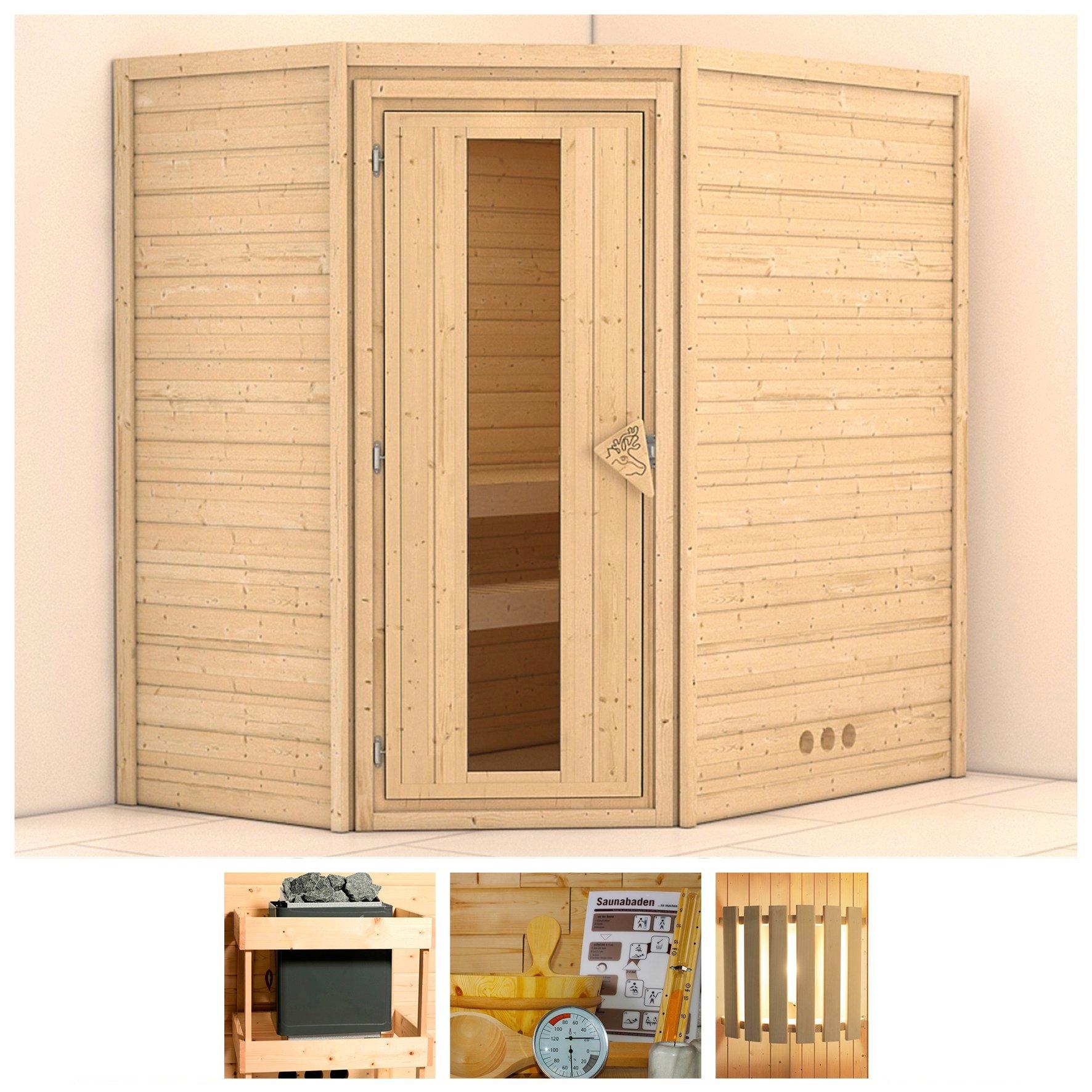 Op zoek naar een KONIFERA sauna »Svea«, 196/146/200 cm, ohne Ofen, Holztür? Koop online bij OTTO