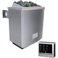 """karibu saunakachel »9 kw oven«, met ext. regeling """"easy finnish"""" zilver"""
