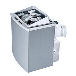 karibu saunakachel »9 kw oven«, met interne controle zilver