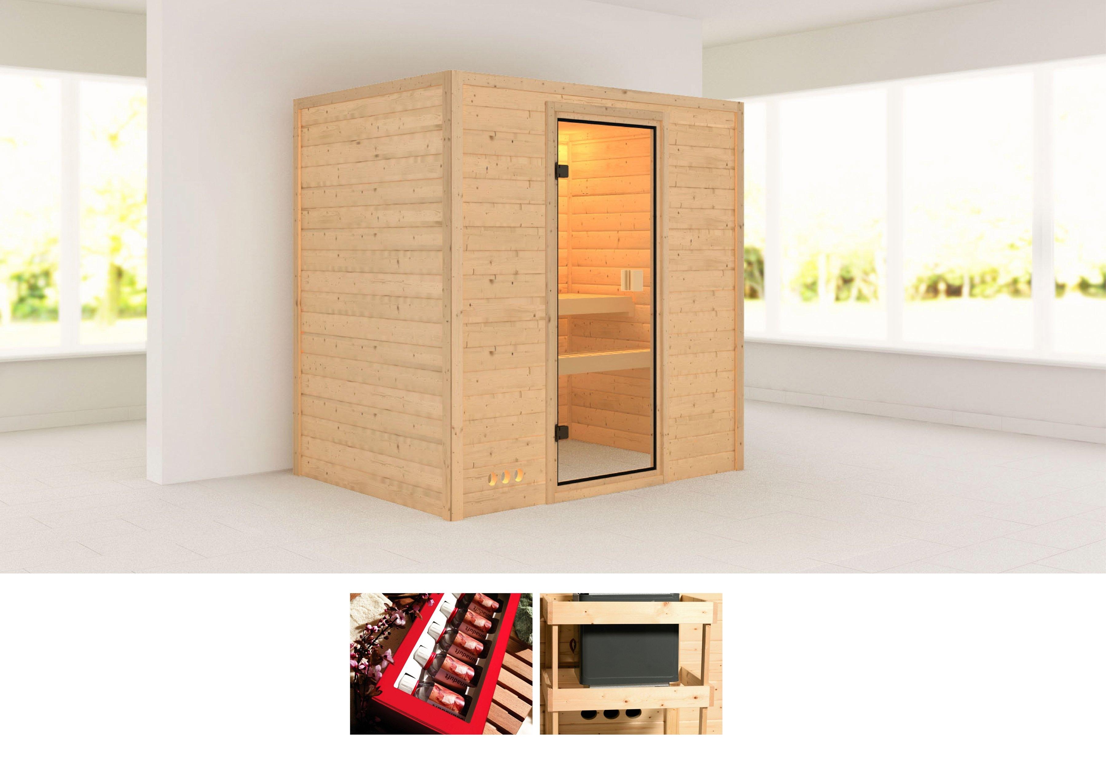 KONIFERA sauna »Sonja«, 196/146/198 cm, ohne Ofen - gratis ruilen op otto.nl
