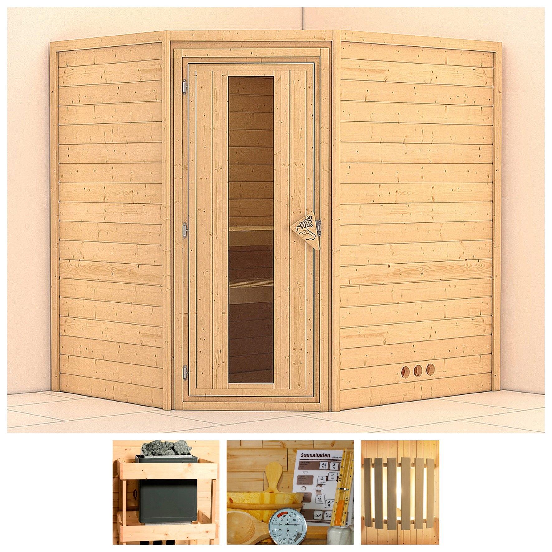 Op zoek naar een Konifera sauna »Mia«, 196/170/200 cm, ohne Ofen, Holztür? Koop online bij OTTO