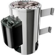 karibu saunakachel »3,6 kw plugplay ofen«, mit int. steuerung zilver