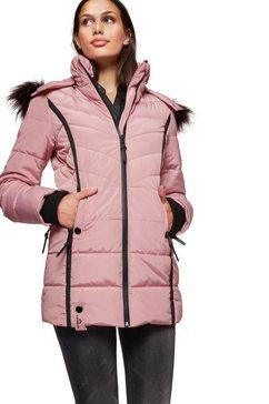 alpenblitz winterjack »pistenglueck« roze