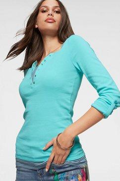 kangaroos 2-in-1-shirt met lange mouwen blauw