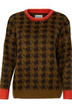 blendshe trui met ronde hals groen