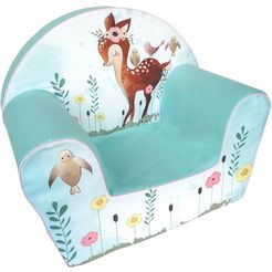 knorrtoys fauteuil fawn gemaakt in europa multicolor