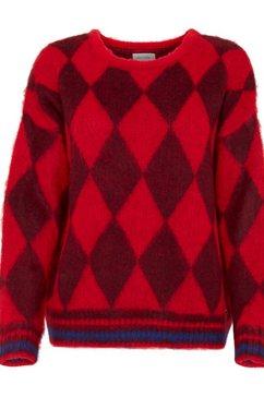blendshe trui met ronde hals rood