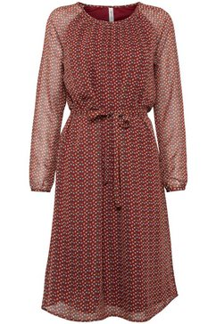 blendshe gedessineerde jurk bruin