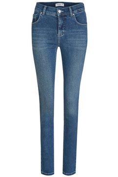 angels slim fit jeans »skinny« blauw