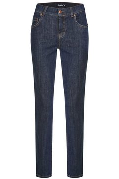 angels straight jeans »cici-raw« blauw