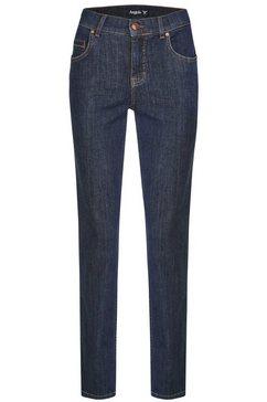 angels straight jeans »cici-raw« blauw