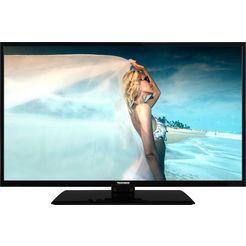 telefunken d39f506m4cw led-tv (98 cm - 39 inch), full hd, smart-tv zwart