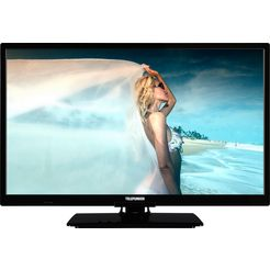 telefunken l24h506m4v led-tv (60 cm - 24 inch), hd-ready zwart