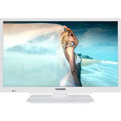 telefunken l24h502m4-w led-tv (60 cm - 24 inch), hd-ready wit