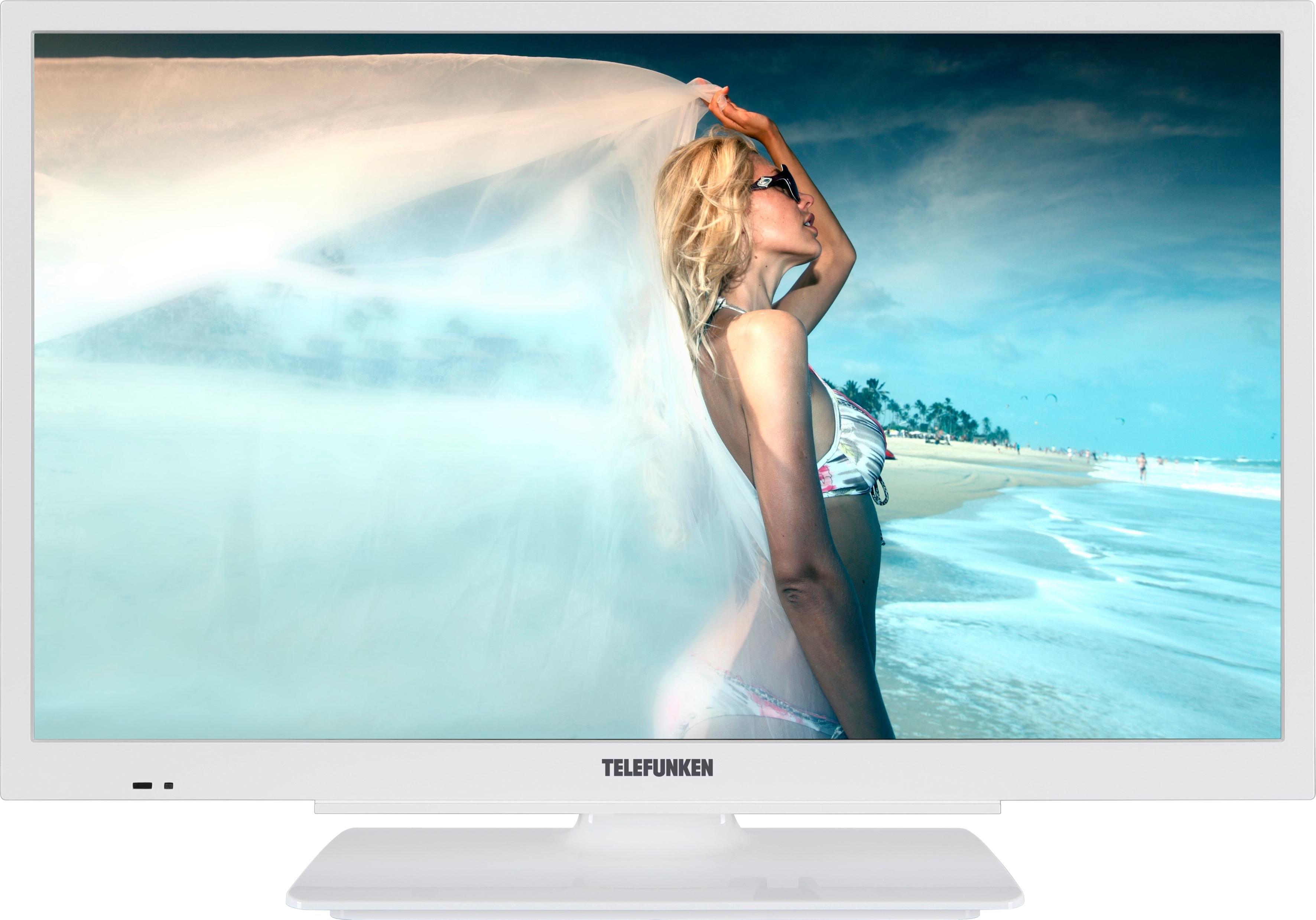 Telefunken L24H502M4-W led-tv (60 cm / 24 inch), HD-ready - gratis ruilen op otto.nl