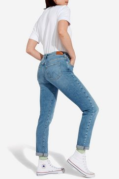 wrangler slim fit jeans blauw