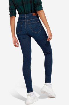 wrangler stretch jeans blauw