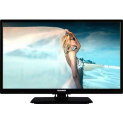 telefunken l24h506m4 led-tv (60 cm - 24 inch), hd-ready zwart