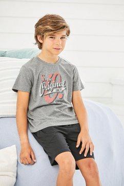 s.oliver bodywear shortama grijs