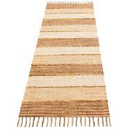 home affaire collection loper priya omkeerbaar tapijt beige