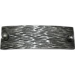 embrasse »structuur«, gardinia, voor (vitrage)gordijnen, deco-gordijnen, gordijnen met zeilringen zilver