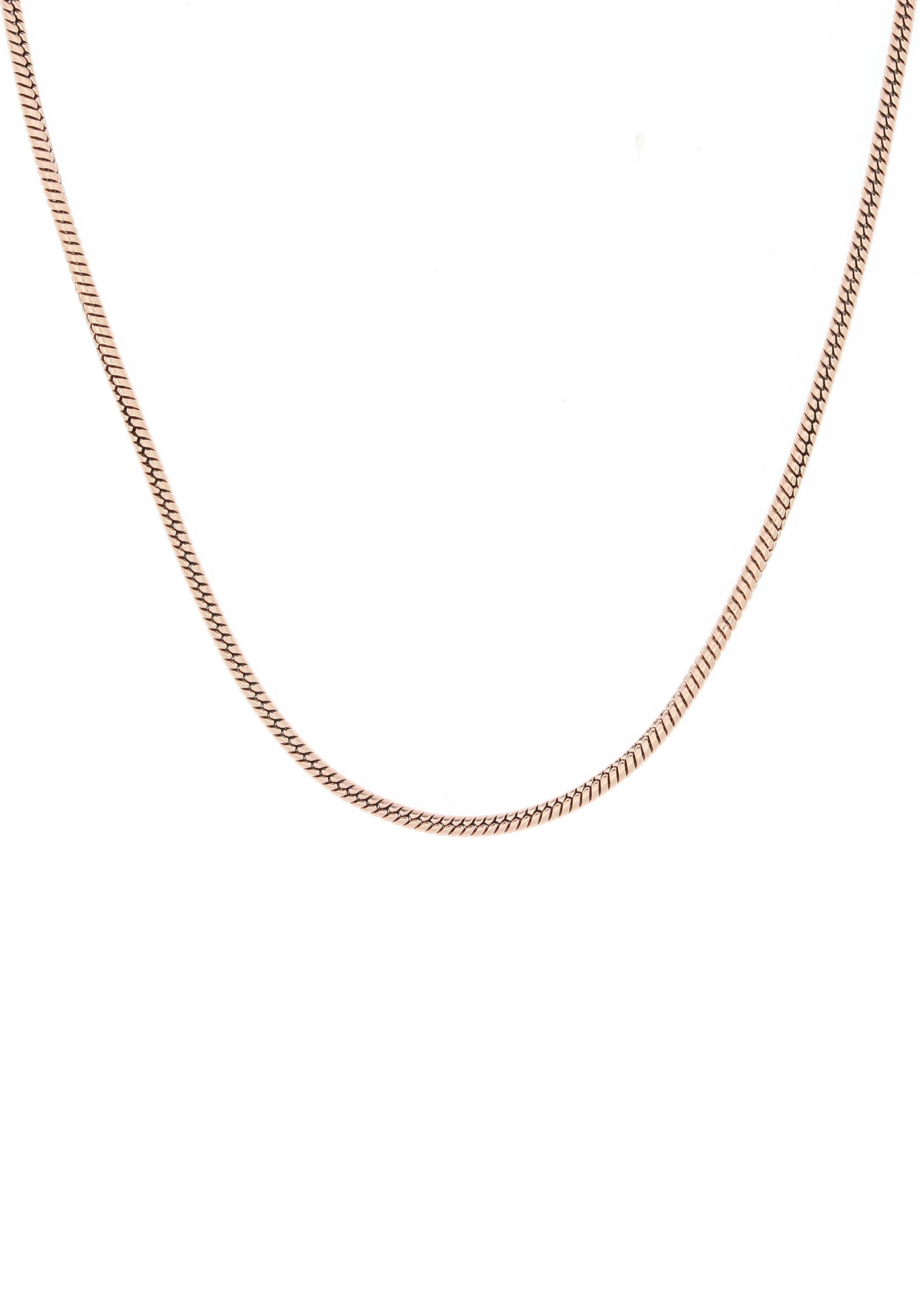 Firetti edelstalen ketting »Slangenkettingschakels, 1,5 mm breed« voordelig en veilig online kopen