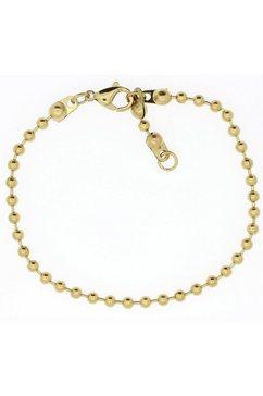 firetti edelstalen armband »kogelkettingschakels, 3,0 mm breed« goud