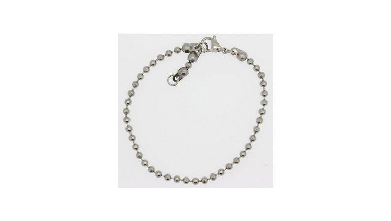 firetti edelstalen armband »Kogelkettingschakels, 3,0 mm breed«