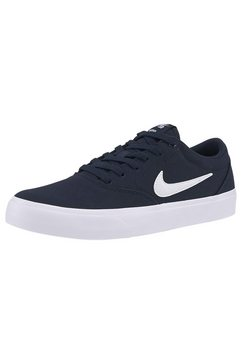 nike sb sneakers »charge solarsoft textile skate« blauw