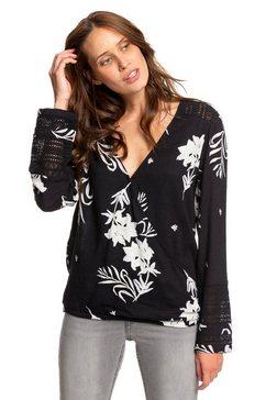 roxy overhemd met lange mouwen »new runaway success« zwart