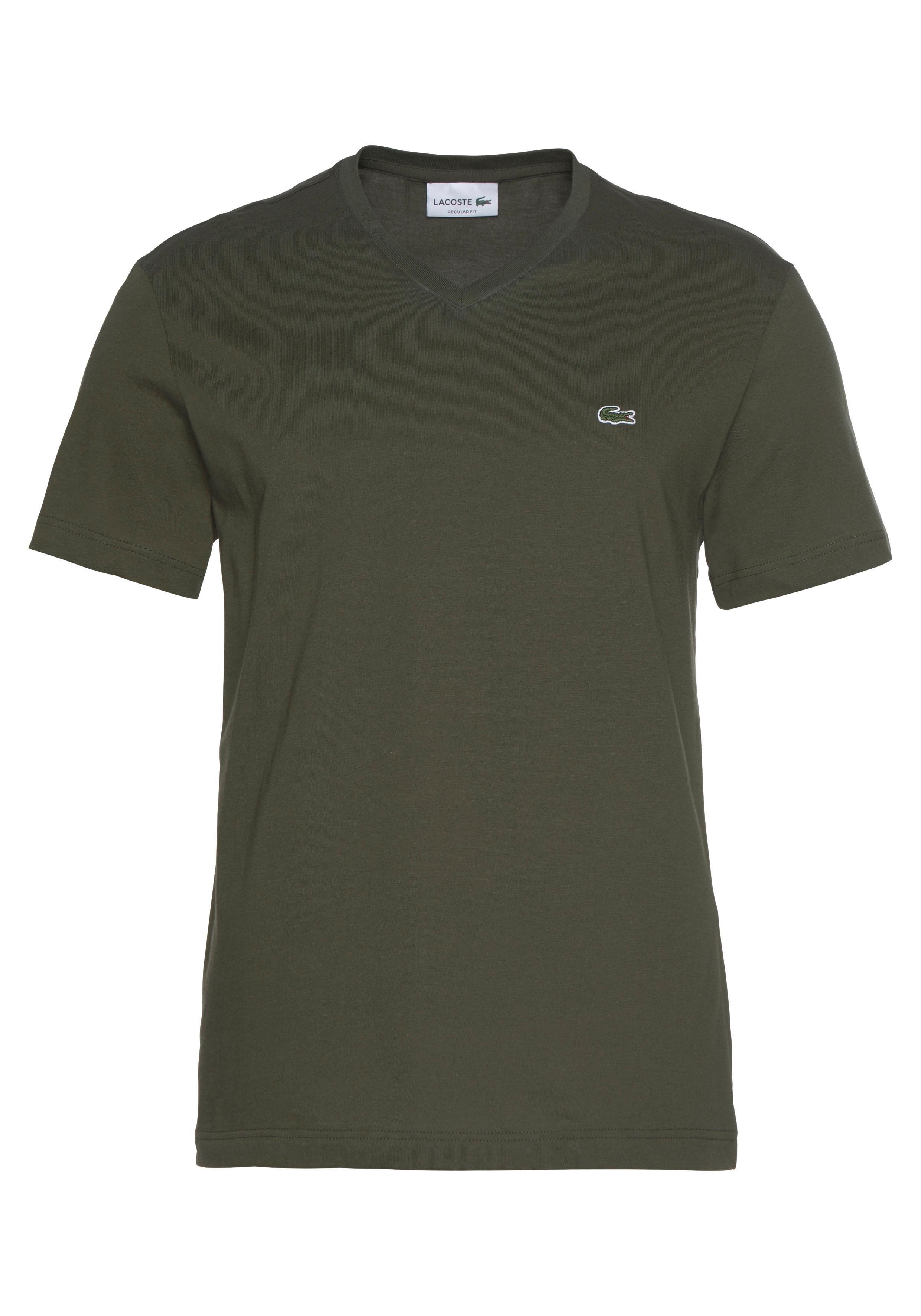 LACOSTE shirt met V-hals in de webshop van OTTO kopen
