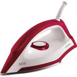 aeg »perfect lb 1300« droogstrijkijzer rood