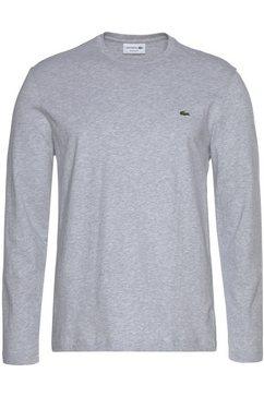 lacoste shirt met lange mouwen »th2040« grijs