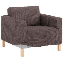 gaico fauteuilhoes eleganza met een innovatieve 3d-structuur (1 stuk) bruin