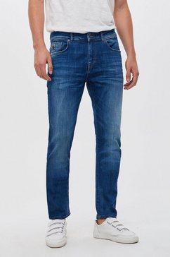 ltb slim fit jeans »joshua« blauw