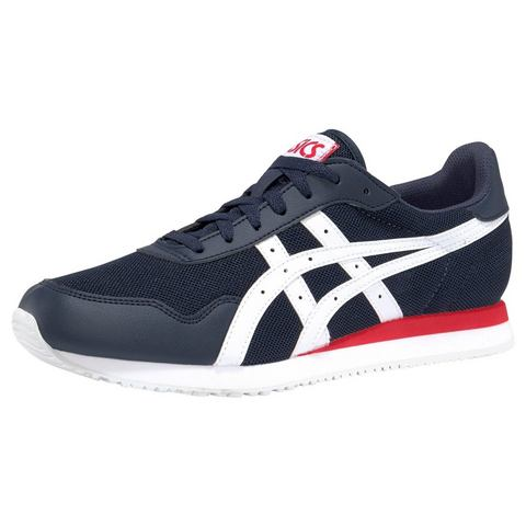ASICS Tiger Runner sneakers donkerblauw-rood