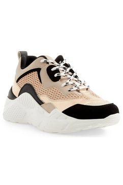 steve madden sneakers met sleehak »antonia« roze
