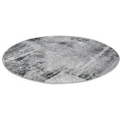 vloerkleed, »luna«, andiamo, rond, hoogte 7 mm, machinaal geweven grijs