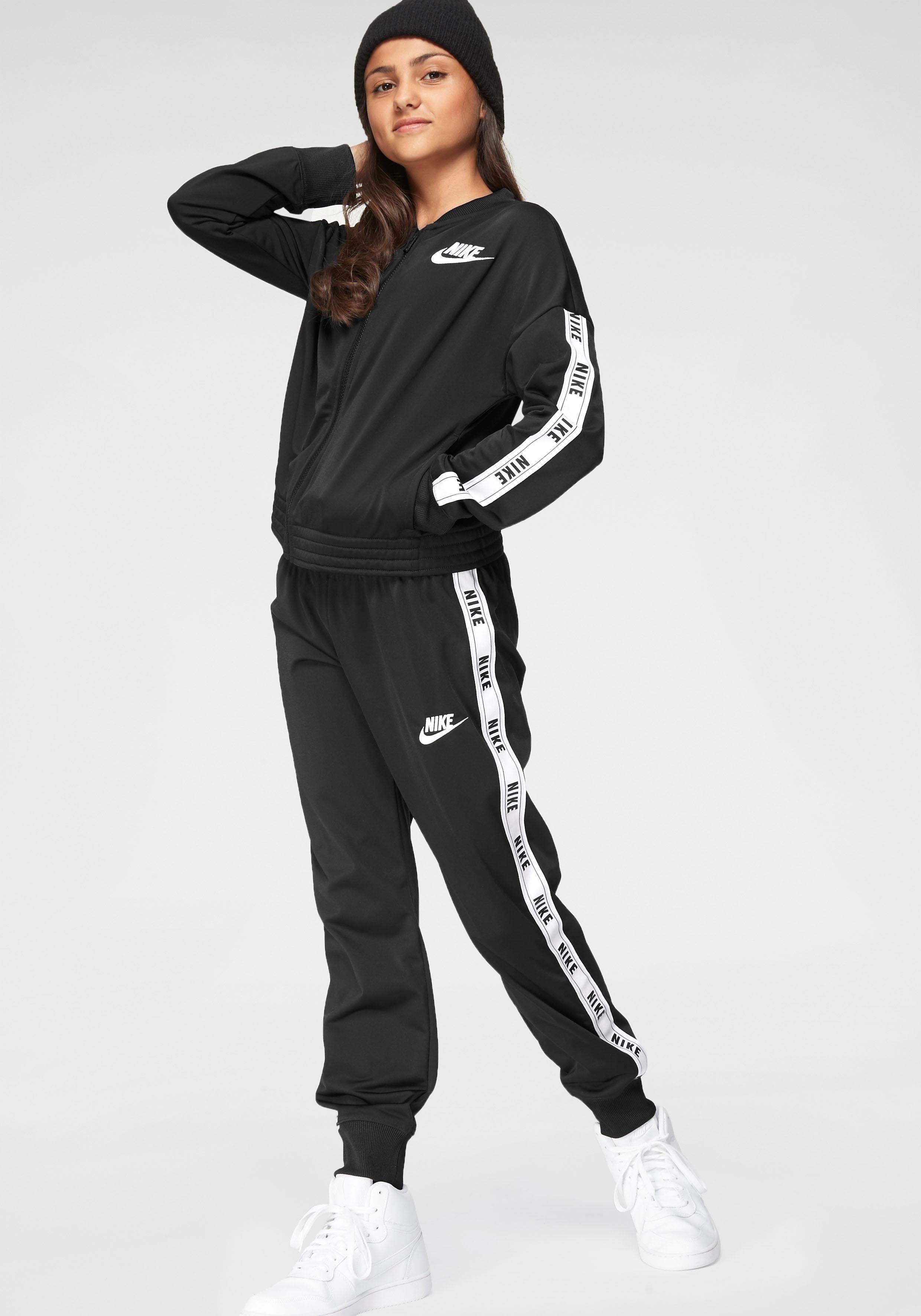 Nike Sportswear trainingspak »GIRLS NIKE SPORTSWEAR TRACKSUIT TRICOT« (set, 2-delig) online kopen op otto.nl