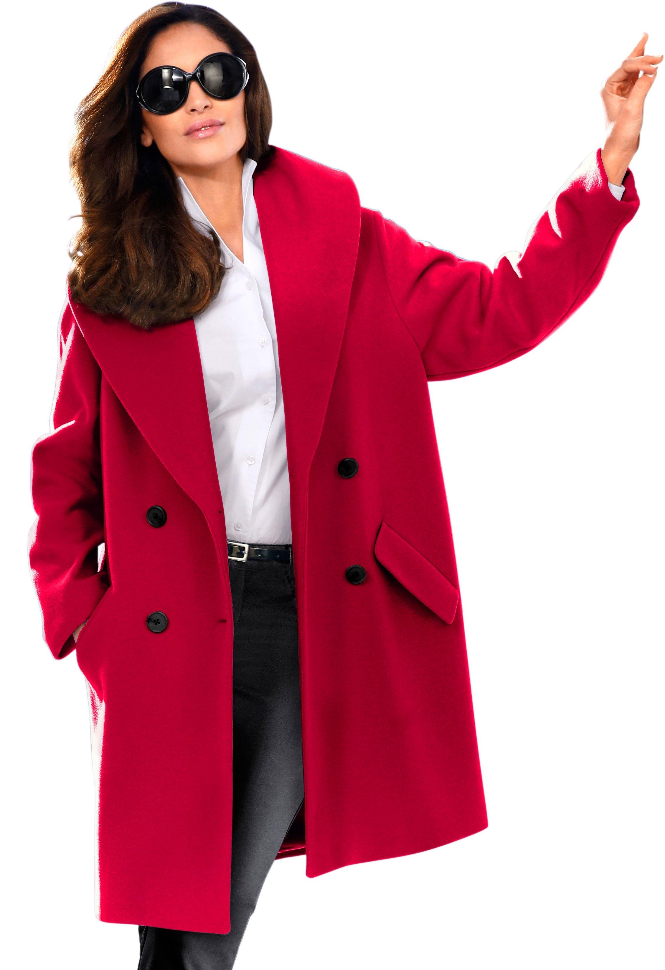 Lady jas met aparte sjaalkraag nu online kopen bij OTTO