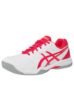 asics tennisschoenen »gel-dedicate 6 indoor« wit